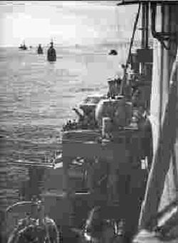 Guns HMS Orion