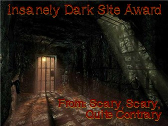 Award from Laceys Horror