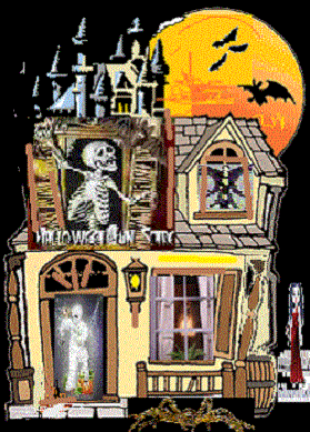 Haunted House Halloween Fun Scare